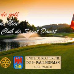 Rejoignez nous pour notre action golf 2016